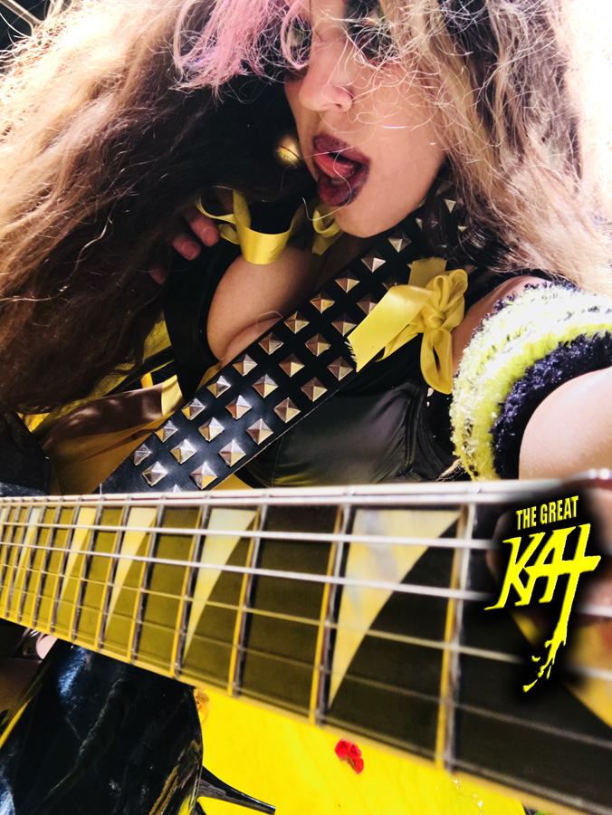 """SHRED MISTRESS! The Great Kat!! From """"CHEF GREAT KAT COOKS RUSSIAN CAVIAR AND BLINI WITH RIMSKY-KORSAKOV"""" VIDEO!"""