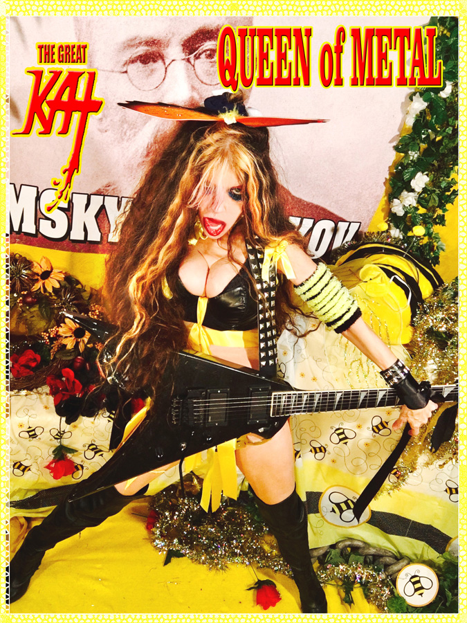 """QUEEN OF METAL! From """"CHEF GREAT KAT COOKS RUSSIAN CAVIAR AND BLINI WITH RIMSKY-KORSAKOV"""" VIDEO!"""