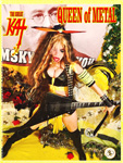 "QUEEN OF METAL! From ""CHEF GREAT KAT COOKS RUSSIAN CAVIAR AND BLINI WITH RIMSKY-KORSAKOV"" VIDEO!"