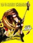 "TOP 10 FASTEST SHREDDERS! From ""CHEF GREAT KAT COOKS RUSSIAN CAVIAR AND BLINI WITH RIMSKY-KORSAKOV"" VIDEO!"