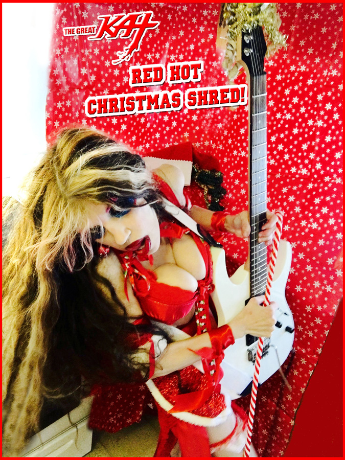 RED HOT CHRISTMAS SHRED