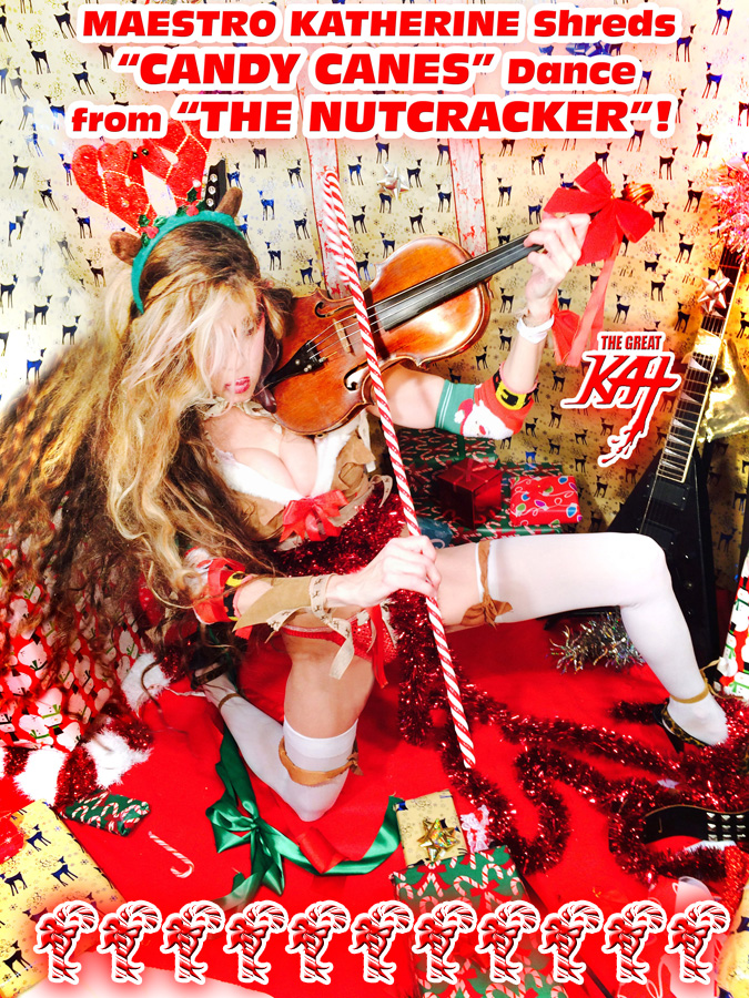 """MAESTRO KATHERINE Shreds """"CANDY CANES"""" Dance from """"THE NUTCRACKER""""!"""