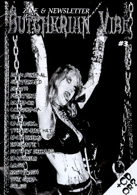 """The Great Kat on the Cover of """"BUTCHERIAN VIBE"""""""
