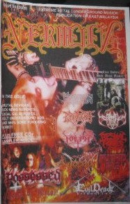 """The Great Kat on the Cover of """"NERMUN"""" Zine"""
