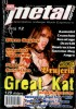 """The Great Kat on the Cover of """"METAL EXPRESS MAGAZINE"""""""