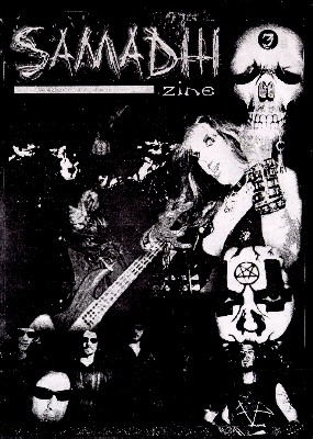 """The Great Kat on the Cover of """"SAMADHI"""" ZINE!"""