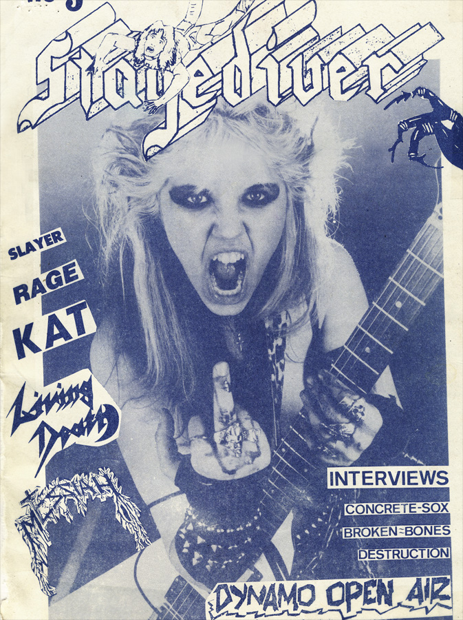 STAGEDIVER MAGAZINE'S FAMOUS COVER STORY ON THE GREAT KAT!