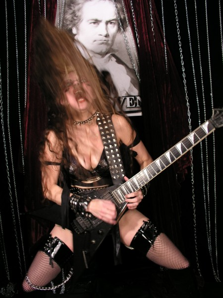 "TODAY ONLINE FEATURES THE GREAT KAT IN ""QUEENS OF NOISE""! ""Can girls rock as hard as the guys? Hell, yeah. Female rockers are making themselves heard. There's The Great Kat."" - By Christopher Toh, Today Online"