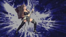 "AV MANIACS' REVIEW OF ""BEETHOVEN'S GUITAR SHRED"" DVD! ""Kat has secured her position as the only classically-trained violinist-turned scantily-clad demonic guitar dominatrix and ambassador of the fine musical arts! Wow. It's difficult not to be bowled over by The Great Kat when she pretty much leaves you no alternative! Centering in on the universal male love of blood, cleavage and wickedly fast/intricate guitar displays. BEETHOVEN'S GUITAR SHRED, an ultra high-energy paen to Ludwig Van, J.S. Bach, Rimsky-Kosakov, that devilish Paganini, and of course, The Great Kat herself."" - Ian Miller, AV Maniacs"