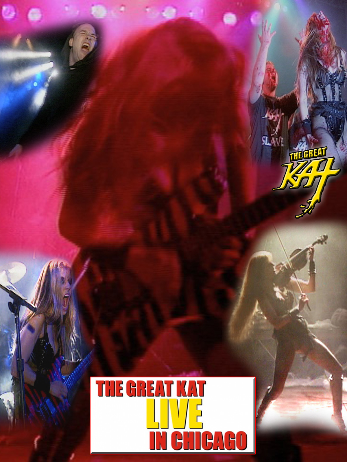 """""""LIVE IN CHICAGO"""" - THE GREAT KAT GUITAR/VIOLIN GODDESS SHREDS LIVE in CHICAGO on TOUR! MUSIC VIDEO PREMIERES on AMAZON PRIME!"""
