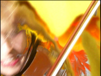 """NEW YOUTUBE VIDEO! """"THE FLIGHT OF THE BUMBLE-BEE""""-GREAT KAT Juilliard Grad Violin Virtuoso SHREDS on Guitar AND Violin!"""