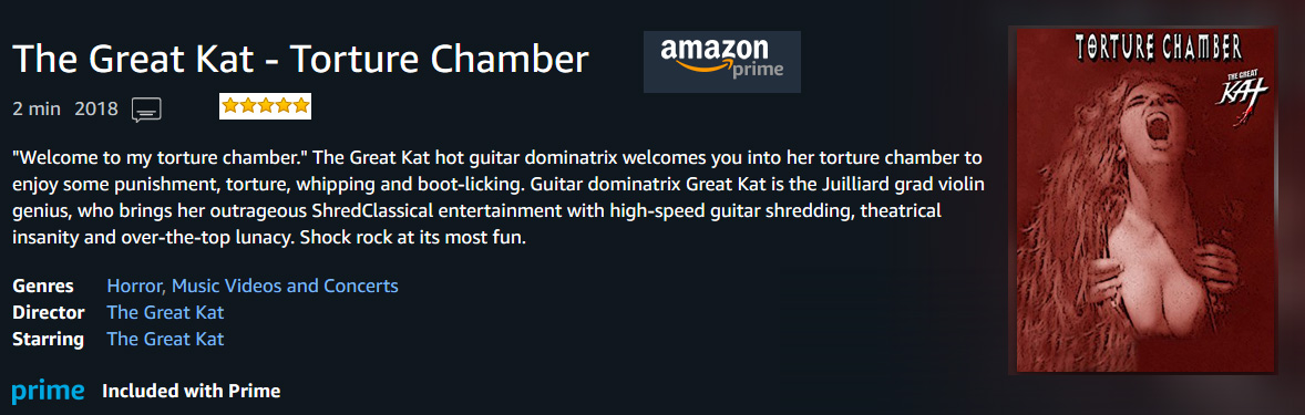 """TORTURE CHAMBER"" MUSIC VIDEO"