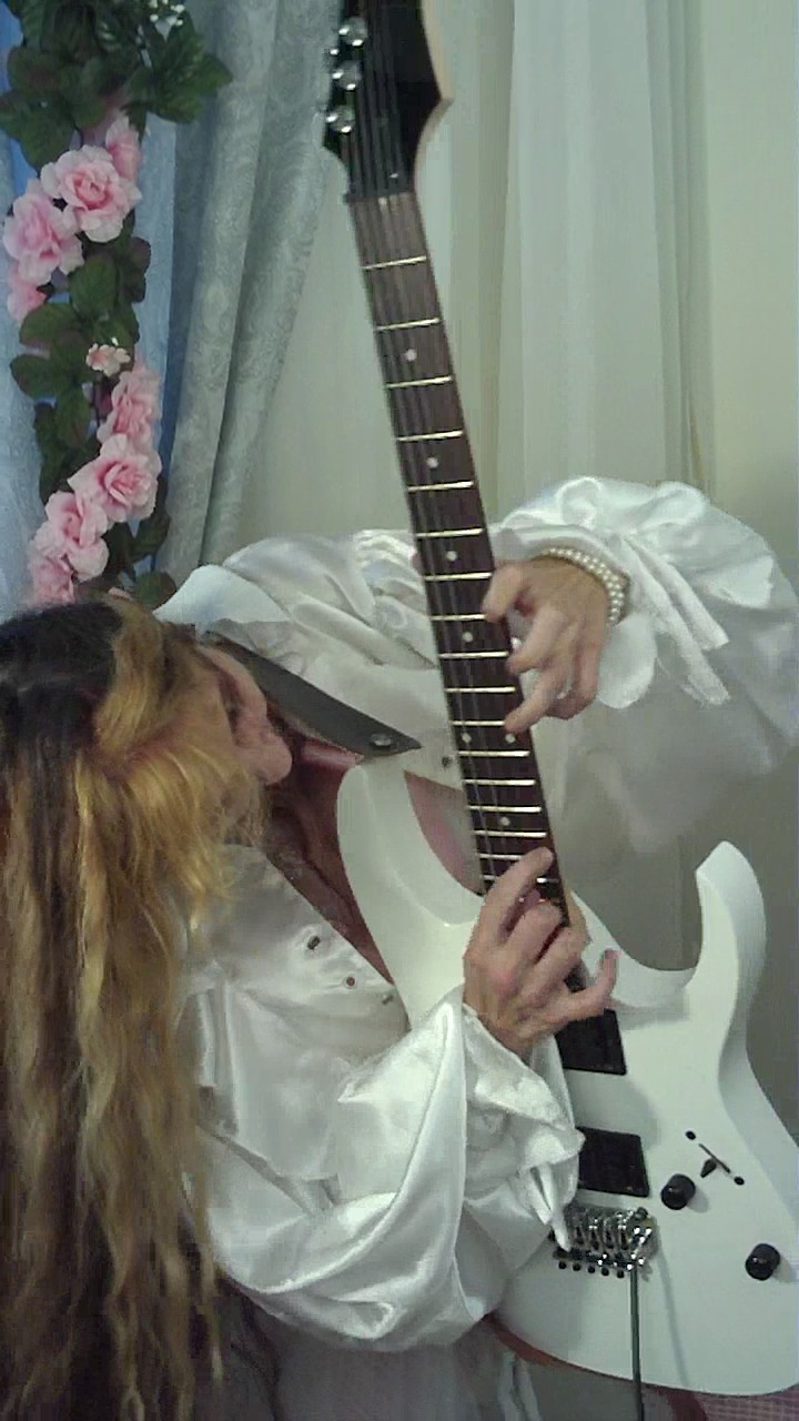 """The Great KAT """"BEETHOVEN'S GUITAR SHRED"""" DVD Photos!"""