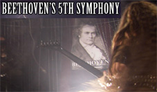 BEETHOVEN Gets the SHRED Treatment from The Great Kat with Guitars AND Violins at