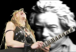 """AV MANIACS INTERVIEW WITH THE GREAT KAT! """"An AV Maniacs Exclusive: 'Evil' Ian Miller Meets The Great Kat And Lives!"""" """"The woman that I now believe is a dark superhero sent by the ghosts of composers past in order to make darn sure nobody forgets who they are, by any means necessary, the one, the only, THE GREAT KAT!!!!"""" - By 'Evil' Ian Miller, AV Maniacs"""