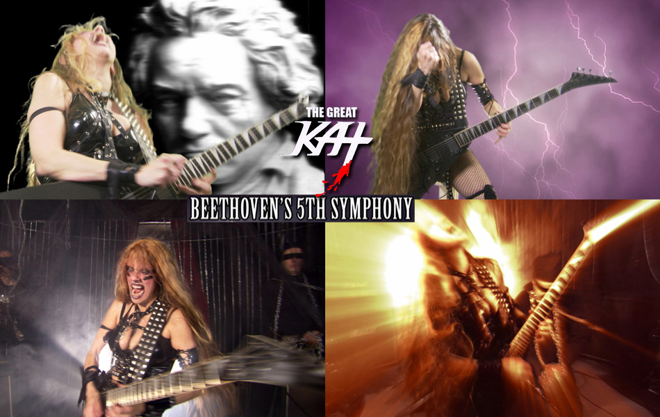 """ITUNES FEATURES THE GREAT KAT'S BEETHOVEN'S """"5th SYMPHONY"""" MUSIC VIDEO!"""
