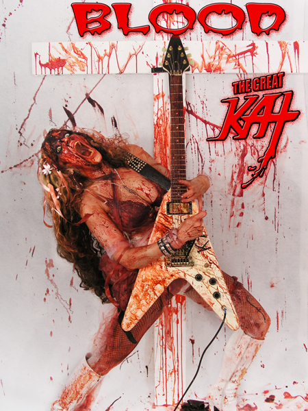 The Great KAT'S BLOOD on AMAZON!
