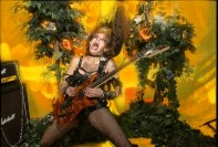 "The Great Kat's Rimsky-Korsakov's ""THE FLIGHT OF THE BUMBLE-BEE"" MUSIC VIDEO! from ""BEETHOVEN'S GUITAR SHRED"" DVD!"