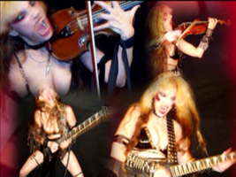 """NEW YOUTUBE VIDEO!! """"HOT SHRED BITS""""-GREAT KAT SHREDS BAZZINI'S """"THE ROUND OF THE GOBLINS"""" on GUITAR & VIOLIN! (from """"EXTREME GUITAR SHRED"""" DVD & """"ROSSINI'S RAPE"""" CD!)"""