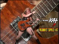 "The Great KAT ""BEETHOVEN'S GUITAR SHRED"" DVD Photos!"