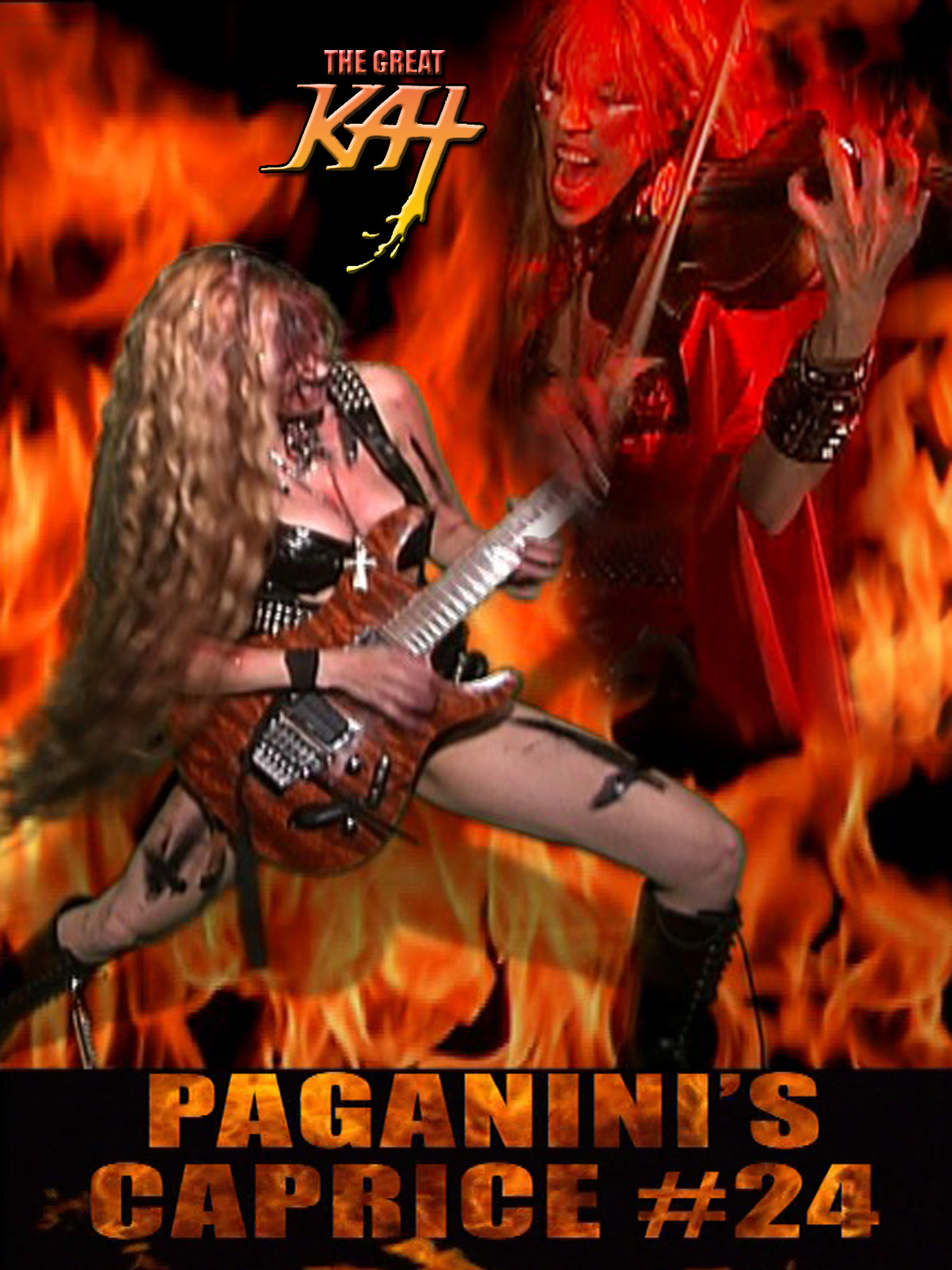 The Great Kat PAGANINI'S CAPRICE #24
