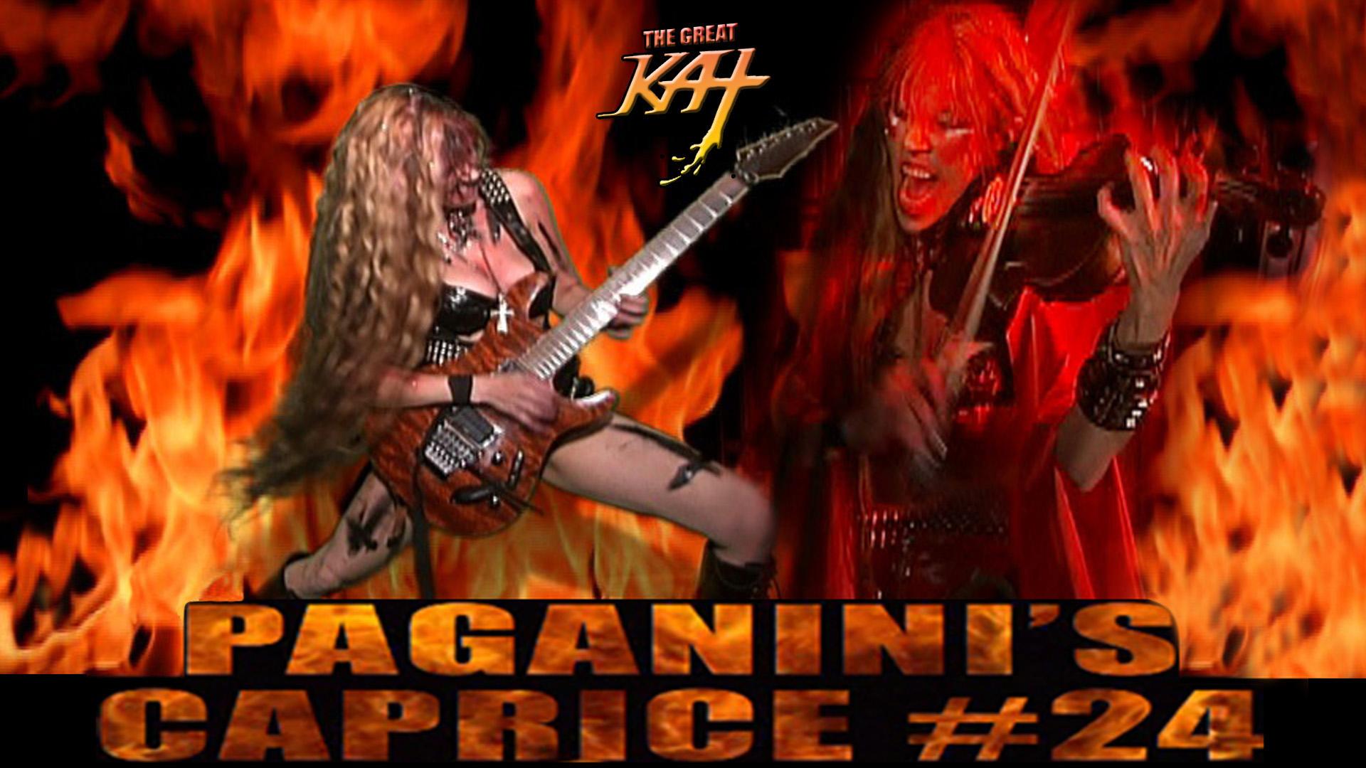 The Great Kat PAGANINI'S CAPRICE #24