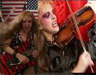 """SARASATE'S """"ZAPATEADO"""" - GREAT KAT SHREDS SARASATE'S SPANISH DANCE on VIRTUOSO GUITAR and VIOLIN! from """"EXTREME GUITAR SHRED"""" DVD & """"WAGNER'S WAR"""" CD!"""