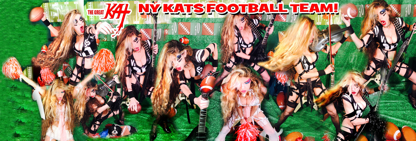 NY KATS FOOTBALL TEAM!