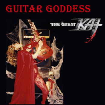 "The Great Kat ""GUITAR GODDESS"" CD Photo"