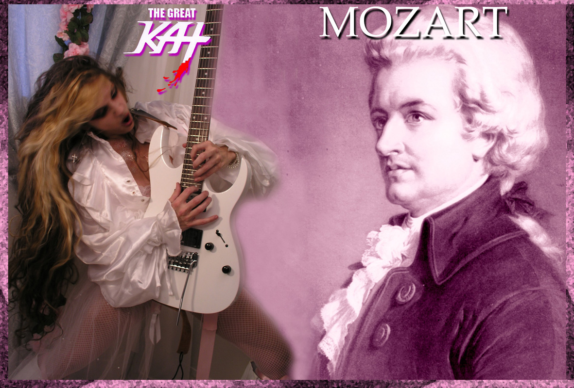THE GREAT KAT! MOZART!