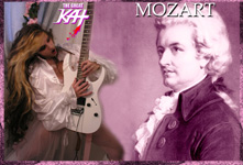 "THE GREAT KAT! MOZART! COMING SOON!! The Great Kat Shreds MOZART'S ""THE MARRIAGE OF FIGARO OVERTURE""!!"