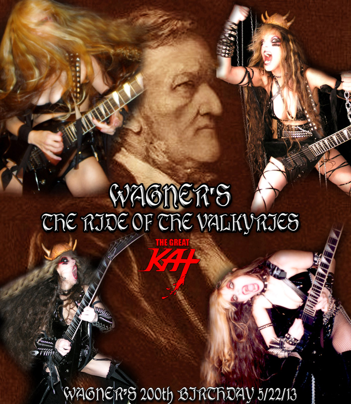 WAGNER'S THE RIDE OF THE VALKYRIES!