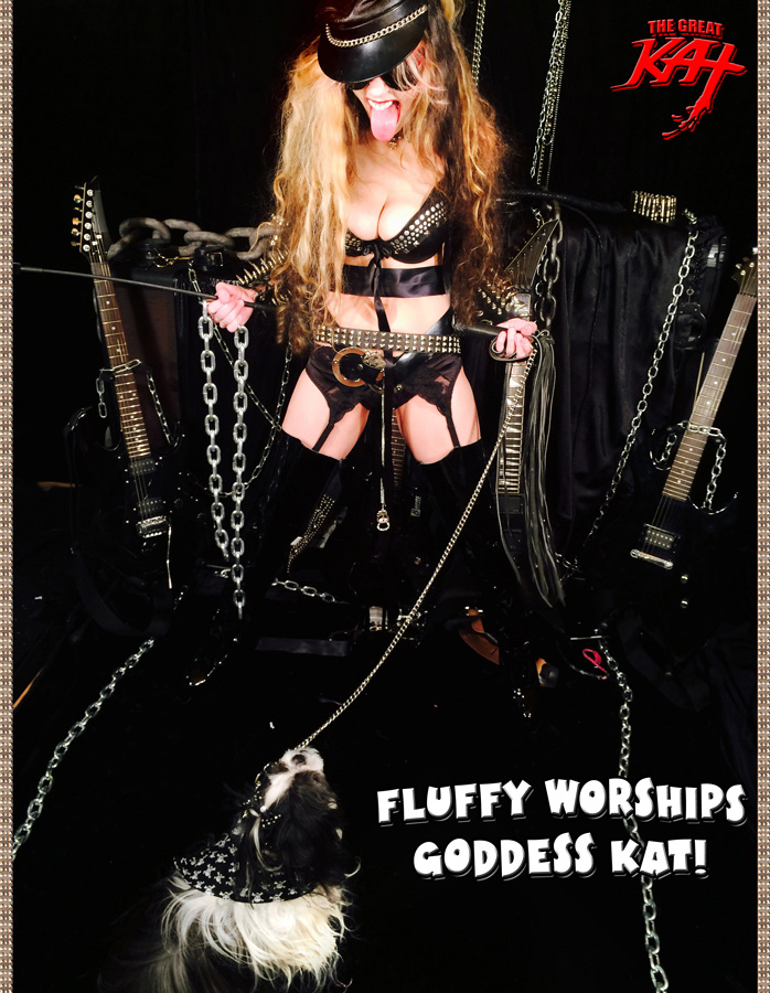 FLUFFY WORSHIPS GODDESS KAT!
