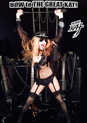 GODDESS GREAT KAT INTERVIEW on This Saturday at 9 p.m. CT (10 PM EST) on The Five Count at www.thefivecount.com ON YOUR KNEES and BOW TO THE GREAT KAT!!!!!