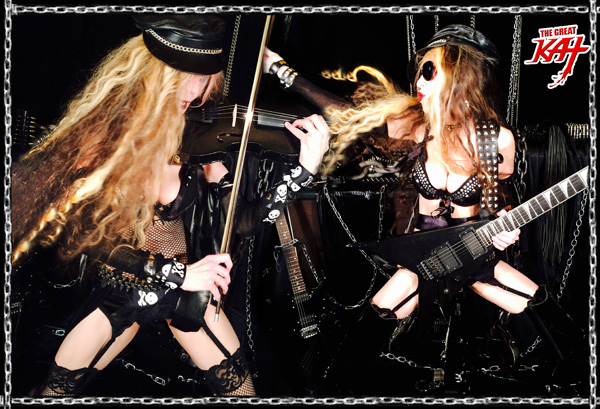 The Great Kat Guitar/Violin DOUBLE Virtuoso!