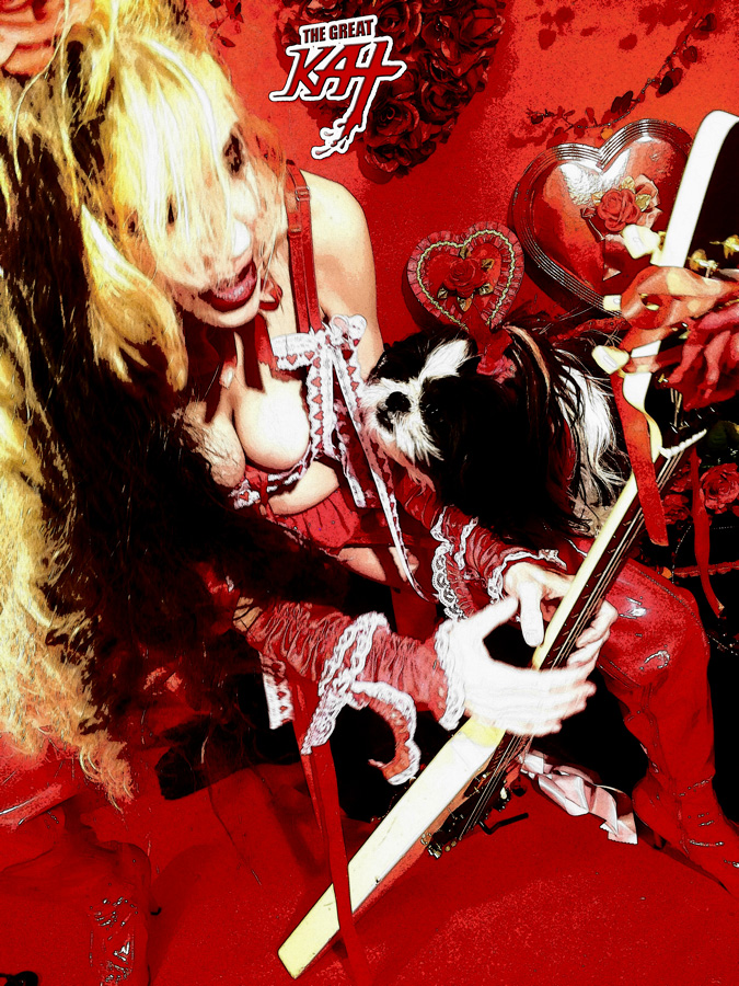 PUPPY LOVE CARTOON! With THE GREAT KAT & FLUFFY!