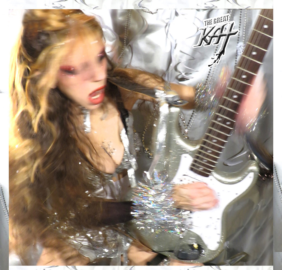 THE GREAT KAT GUITAR SHREDDER PHOTOS!