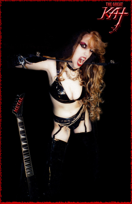 PRESS/MAGAZINES/RADIO: Get READY to be ABUSED By the Great Kat! Request YOUR GREAT KAT GUITAR GODDESS Interview, Radio ID & Review copy!
