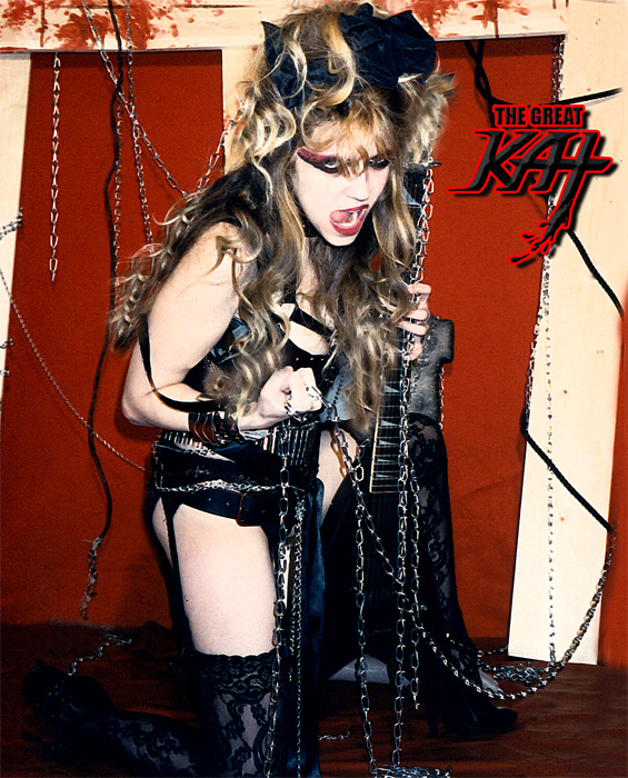 The Great KAT GUITAR GODDESS