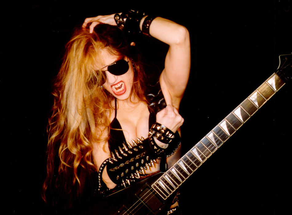 THE GREAT KAT RIPPING GUITAR DEITY!