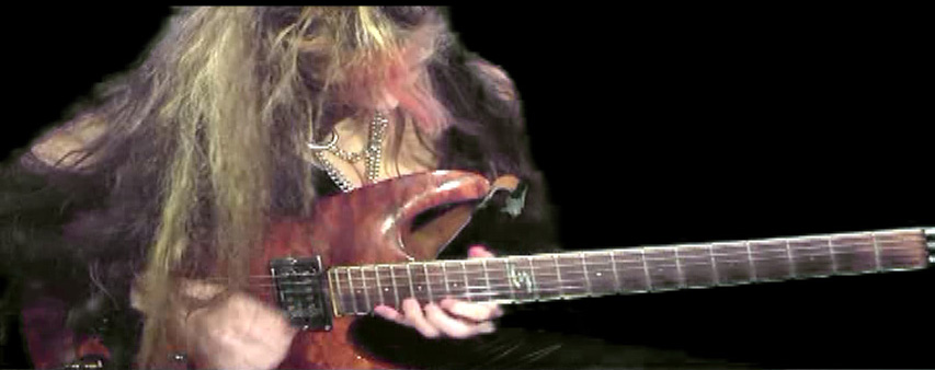 "THE GREAT KAT GUITAR SHREDDING/TABLATURE/MUSIC NOTATION PHOTOS from ""THE FLIGHT OF THE BUMBLE-BEE""!"