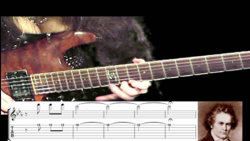"THE GREAT KAT GUITAR SHREDDING/TABLATURE/MUSIC NOTATION PHOTOS from BEETHOVEN'S ""5th SYMPHONY"""