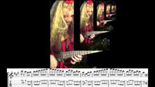 "SARASATE'S ""ZAPATEADO"" – GREAT KAT SHREDS SARASATE with GUITAR TABLATURE & MUSIC NOTATION!"