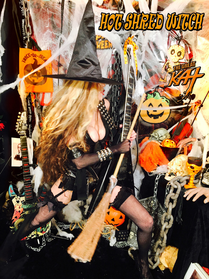 YOUR HOT SHRED WITCH!