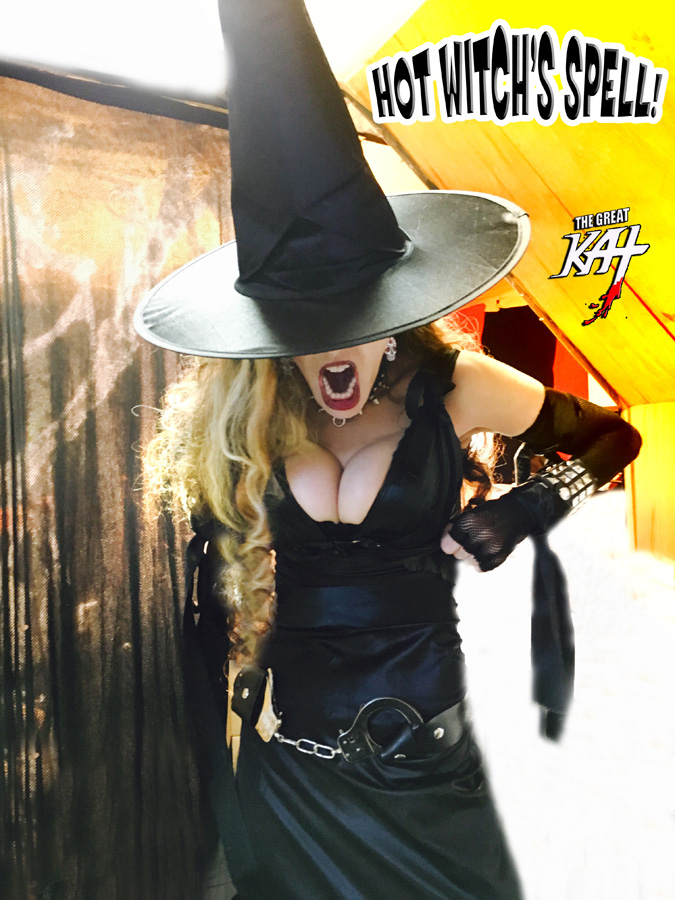 HOT WITCH'S SPELL!