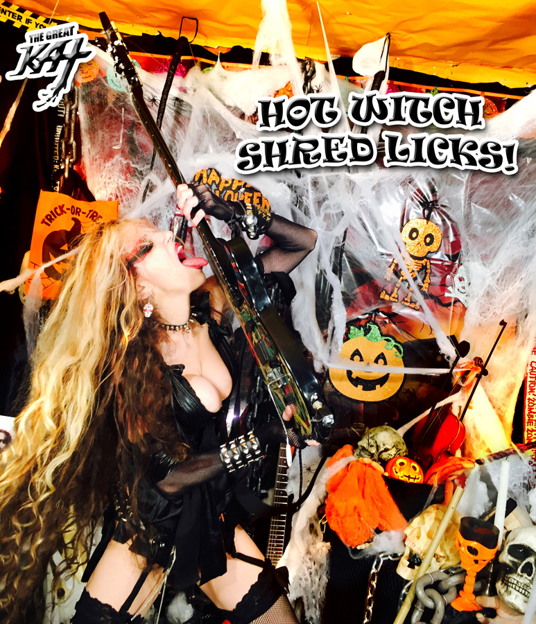 HOT WITCH SHRED LICKS