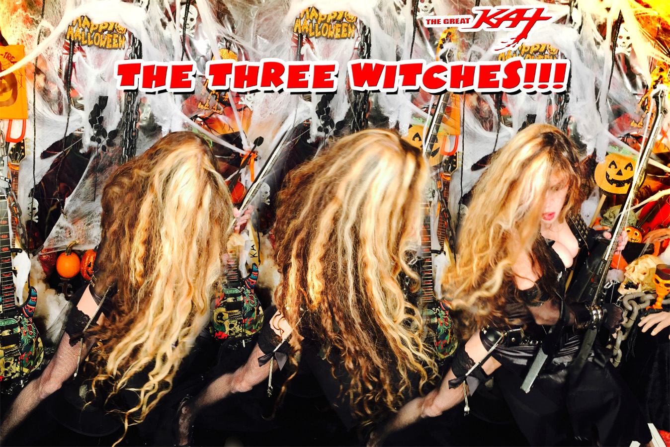 THE THREE WITCHES!