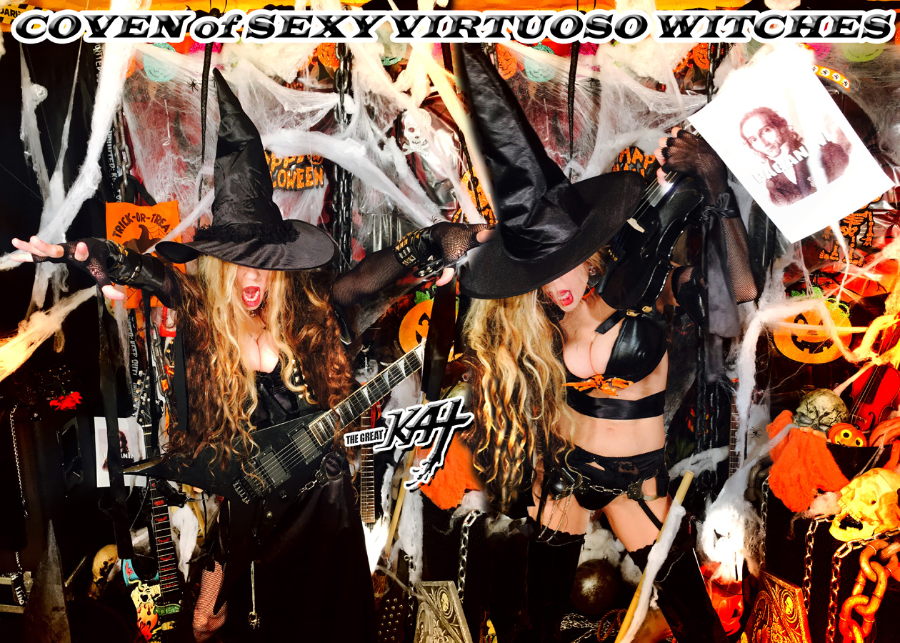 COVEN of SEXY VIRTUOSO WITCHES