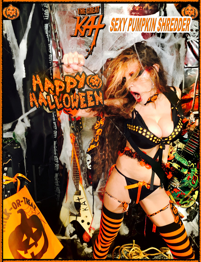 HAPPY HALLOWEEN!! From YOUR SEXY PUMPKIN SHREDDER!