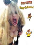 STRAY KITTEN! Happy Halloween!